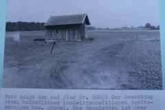 Bau der Vereinshütte