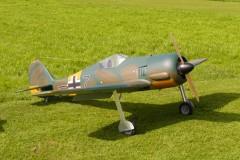 das fertige Modell der FW 190-A5