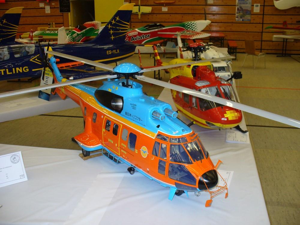 russisches Hubschraubermodell
