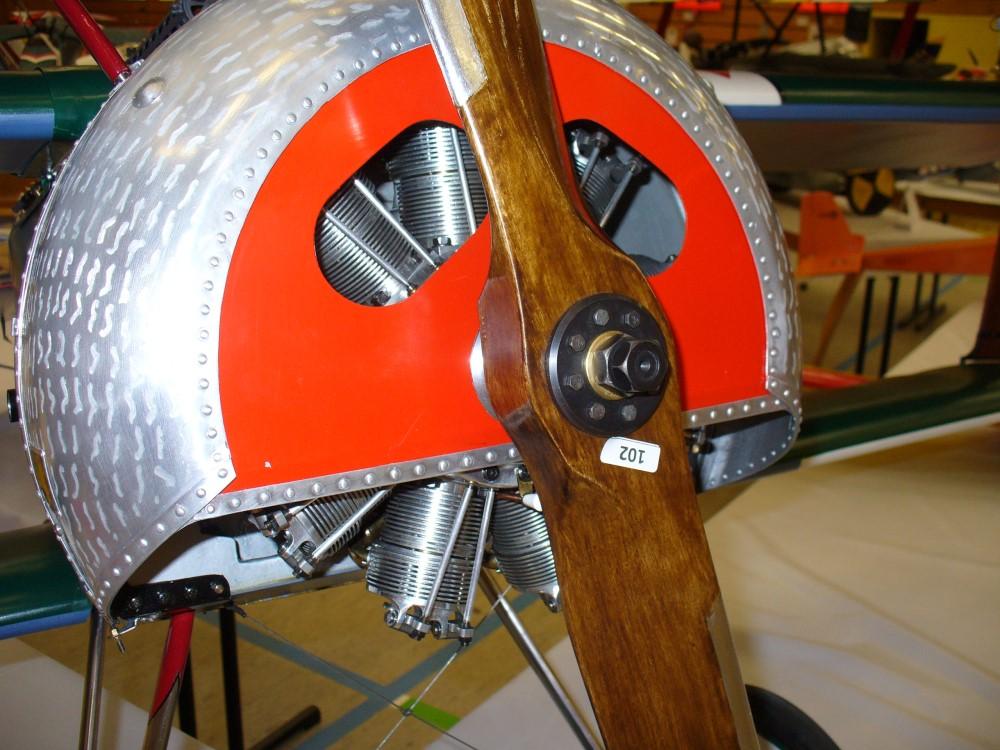 Eigenbau-Umlaufsternmotor