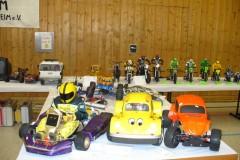 Bereich Modellautos und Motorräder